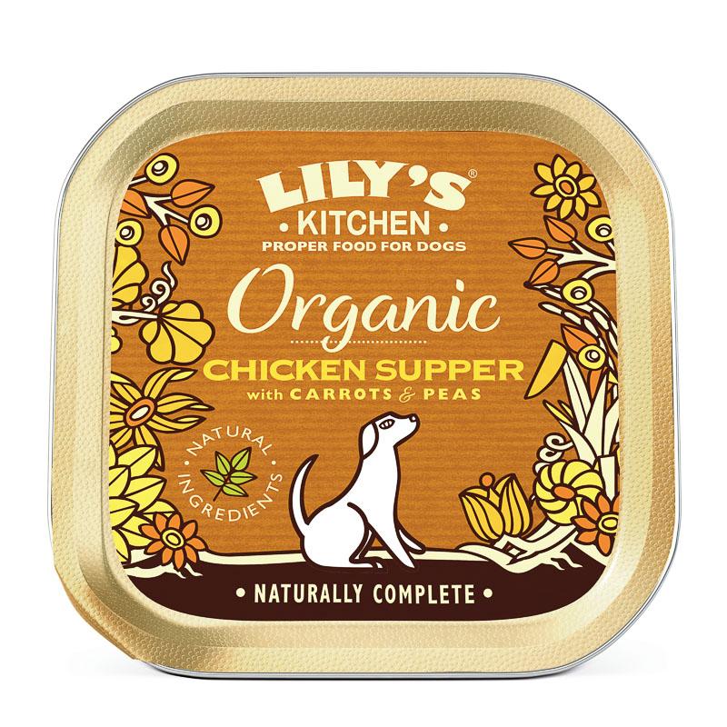 Organic Chicken and Spelt Supper
