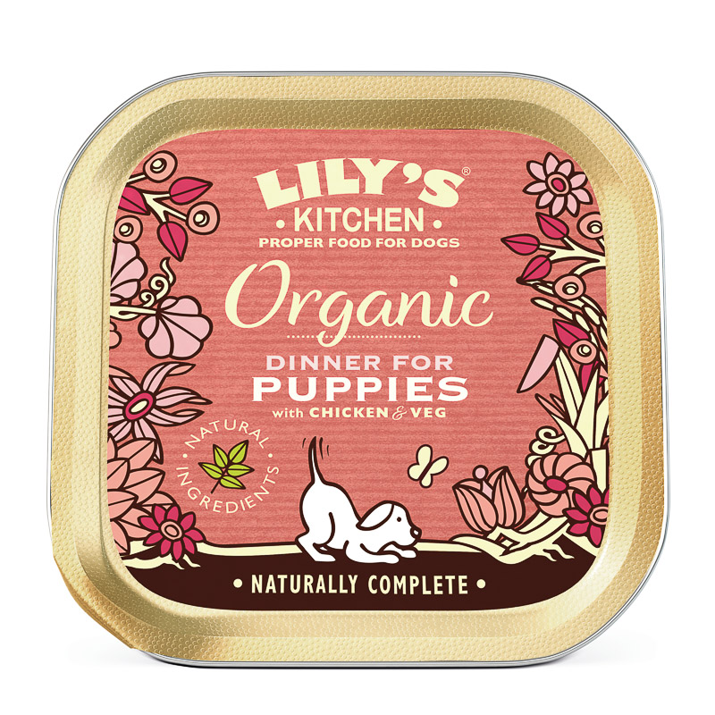 Organic Dinner for Puppies